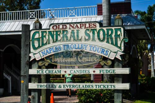 Naples Florida Store sign - Dave Buttery Photography