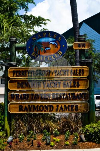 Sign Naples Florida - Dave Buttery Photography