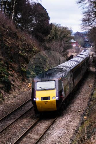 South Bound X-Country train near Millford north of DerbyDave Buttery Photography