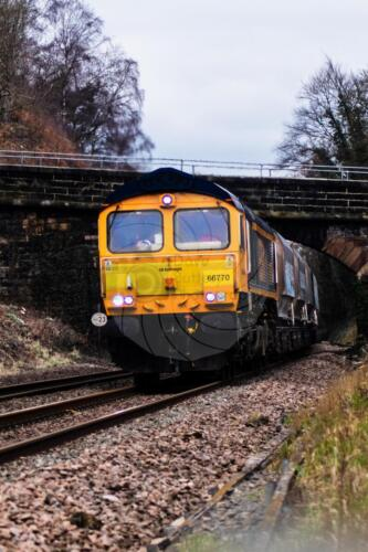 Southbound Cement Freight Train south of Belper & North of DerbyDave Buttery Photography
