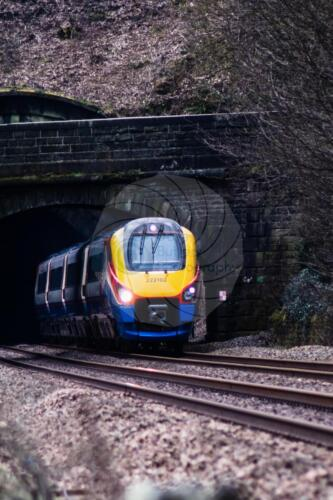 North bound London to Sheffield Train exits the Millford TunnelDave Buttery Photography