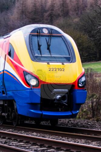 North Bound London to Sheffield train between Millford and BelperDave Buttery Photography