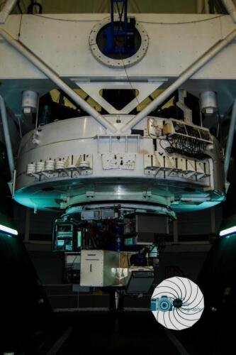 the electronics for imagine on the William Herschel Telescope on La Palma