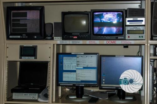 The control room for the William Herschel Telescope on La Palma