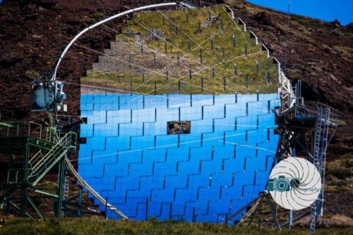 The Mirror of the MAGIC telescope on La Palma